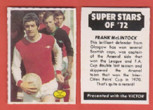 Arsenal Frank McLintock Scotland